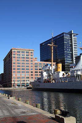 Inner Harbor At Baltimore Md - 121220 Poster by DC Photographer
