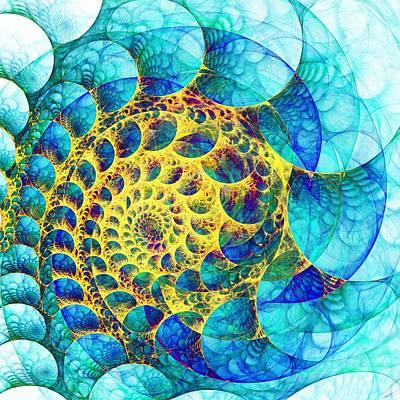 Inner Structure Poster by Anastasiya Malakhova