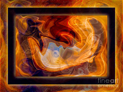 Innocence Reborn As Abstract Healing Art Poster by Omaste Witkowski
