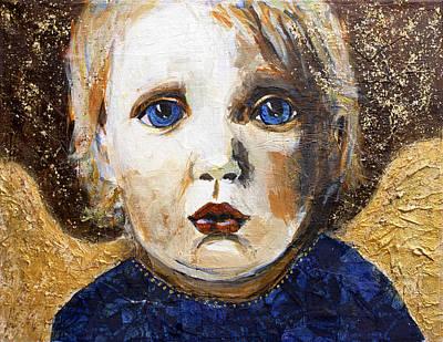 Innocent Angel Poster by Jill Van Iperen