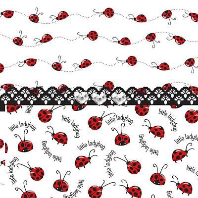 Innocent Ladybugs  Poster