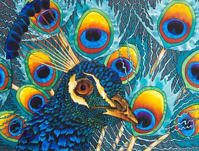 Insane Peacock Poster