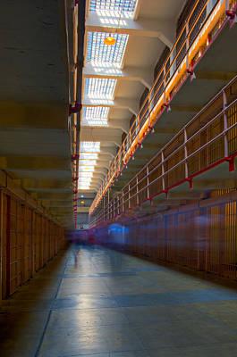 Inside Alcatraz Poster by James O Thompson