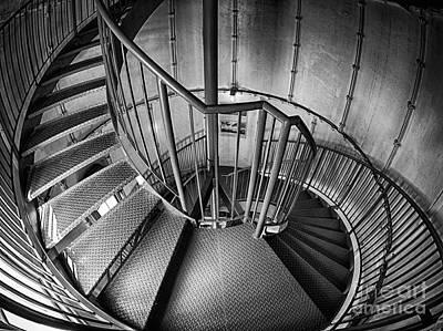 Inside Edgartown Lighthouse 2 Poster by Mark Miller