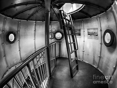Inside Edgartown Lighthouse 4 Poster by Mark Miller