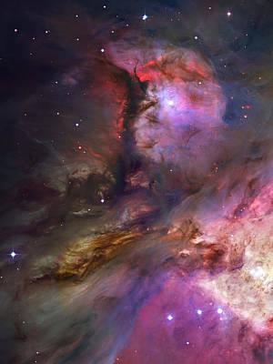 Inside Orion Poster by Ricky Barnard