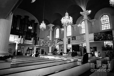 Inside St Pauls Chapel Ground Zero New York City Poster