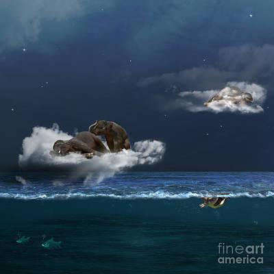 Insomnia Poster by Martine Roch