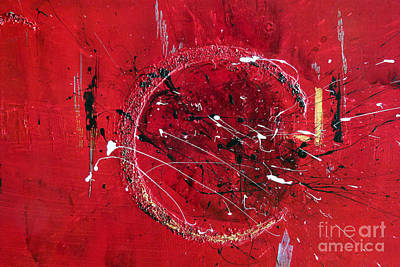 Inspiration- Abstract Painting Poster by Ismeta Gruenwald