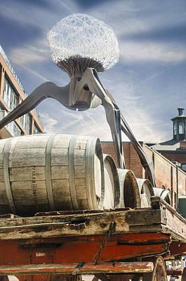 Installation At Distillery Poster
