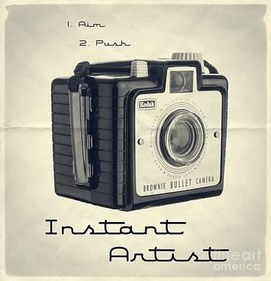 Instant Artist Poster