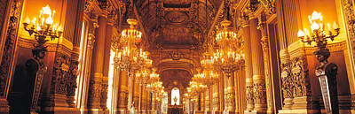 Interior Of A Palace, Chateau De Poster