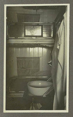 Interior Of A Ships Cabin, Anonymous,dutch Indies Poster by Artokoloro