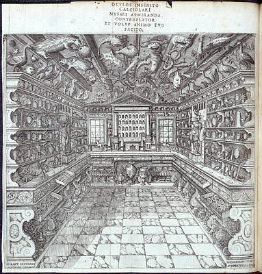 Interior Of Museum Poster by British Library
