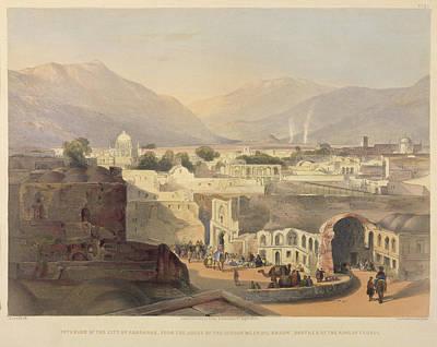 Interior Of The City Of Kandahar Poster