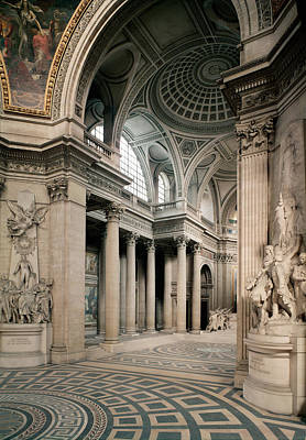 Interior View, 1764-1812 Photo Poster by Jacques Germain Soufflot