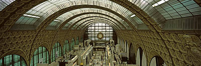 Interiors Of A Museum, Musee Dorsay Poster by Panoramic Images