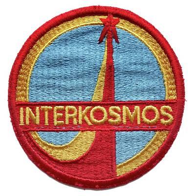 Interkosmos Emblem Badge Poster