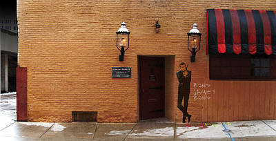 Poster featuring the digital art International Exports Ltd Secret Entrance To The Safe House In Milwaukee by David Blank