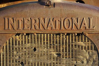 International Truck Emblem Poster by Mike McGlothlen