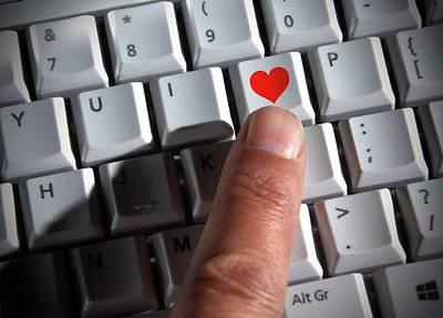 Internet Dating Poster by Victor De Schwanberg
