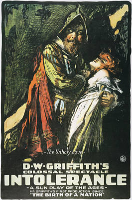 Intolerance Film, 1916 Poster