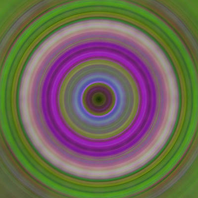 Introspection - Energy Art By Sharon Cummings Poster