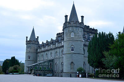Inveraray Castle Poster by DejaVu Designs