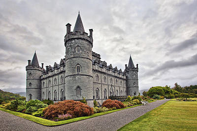Inveraray Castle Poster by Marcia Colelli