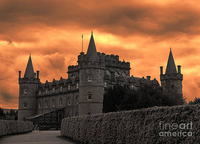Inveraray Castle Scotland Poster by Juli Scalzi