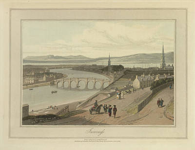 Inverness City On The Moray Firth Poster by British Library