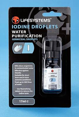 Iodine Water Purification Drops Poster
