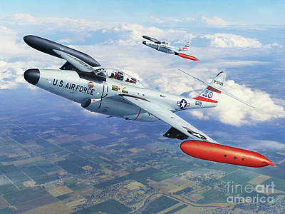 Iowa Ang F-89j Scorpion Poster by Stu Shepherd