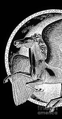 iPhone-Case-Pegasus1 Poster by Gordon Punt