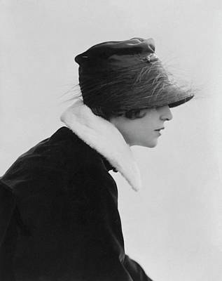 Irene Castle Wearing A Hat Poster by Rita Martin