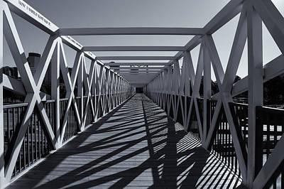 Irene Hixon Whitney Bridge  Mono Poster