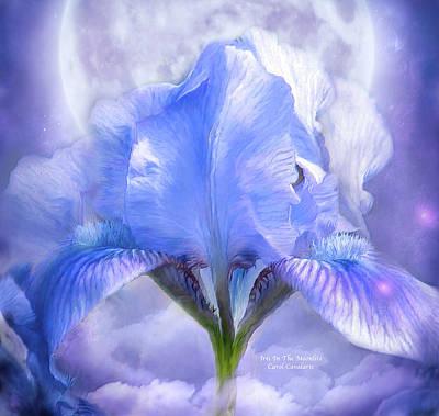 Iris - Goddess In The Moonlite Poster