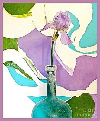 Iris Identity Poster