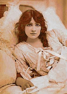 Iris Waking Poster by Maureen Tillman