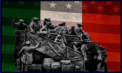 Irish American Poster by Bill Cannon