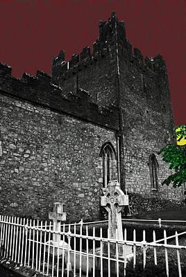 Irish Cemetery Poster