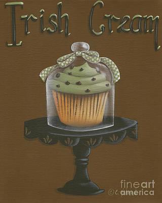 Irish Cream Cupcake Poster