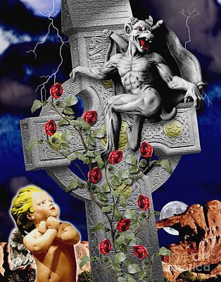 Irish Devil Poster by Keith Dillon