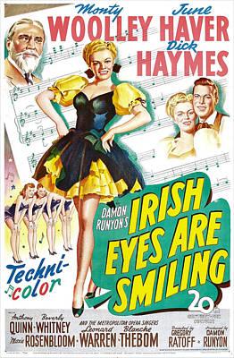 Irish Eyes Are Smiling, Us Poster Poster