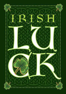 Irish Luck Poster