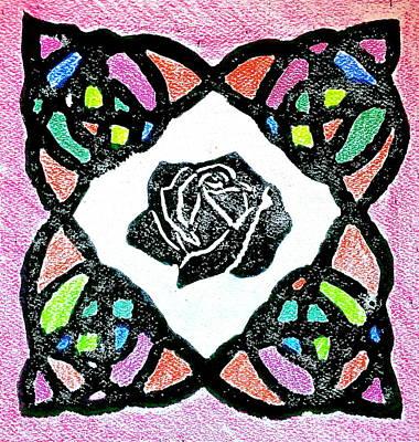 Irish Rose Poster by Marita McVeigh