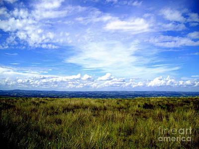 Poster featuring the photograph Irish Sky by Nina Ficur Feenan