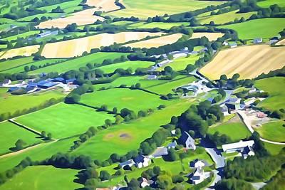 Irish Skyscape Poster
