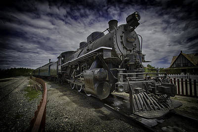 Poster featuring the photograph Iron Horse by Russell Styles