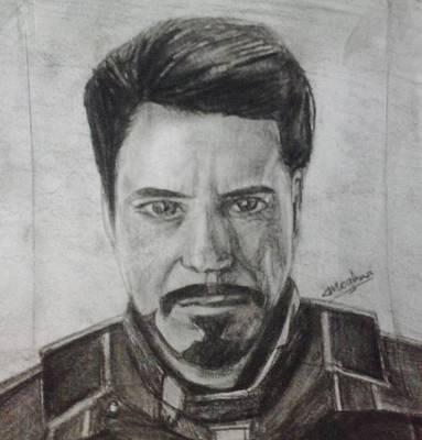 Iron Man Poster by Meghna Suvarna